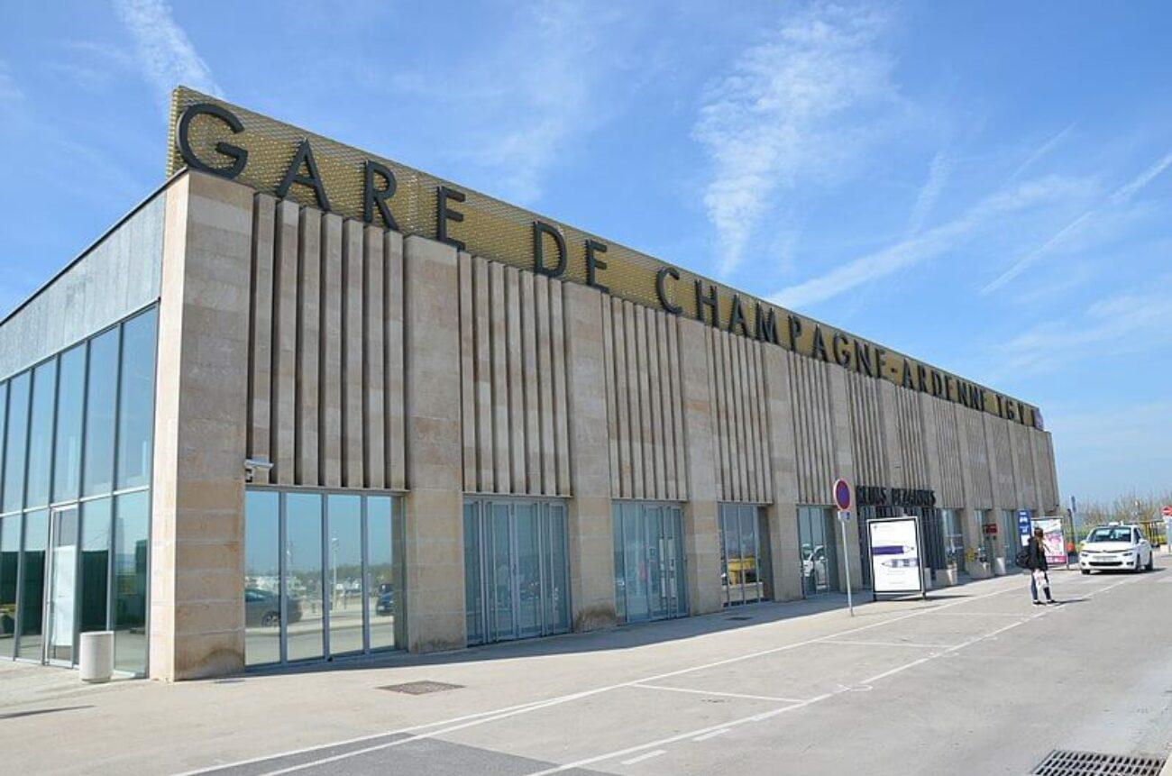 la gare de Bezannes TGV
