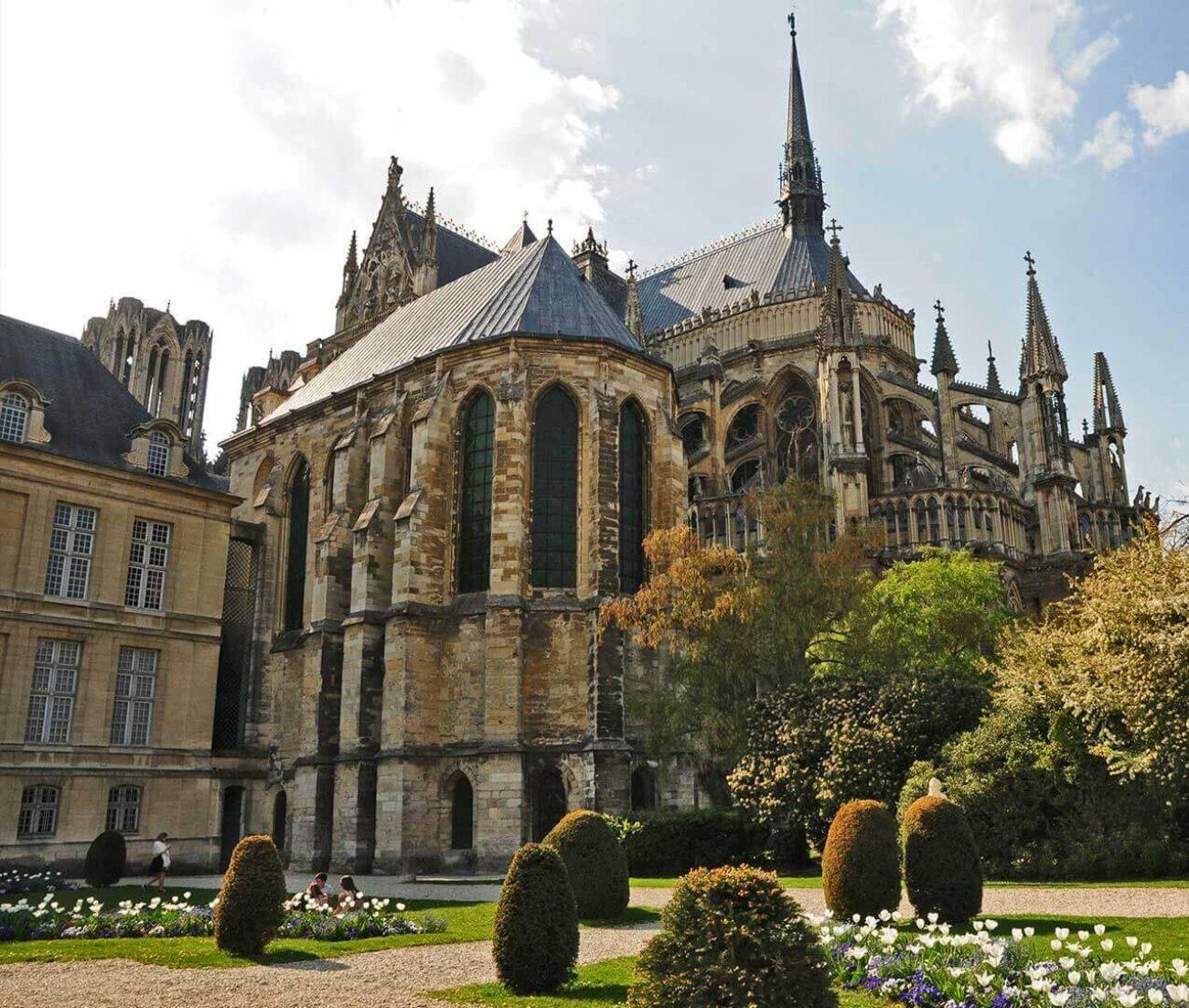 La ville de Reims cathedrale